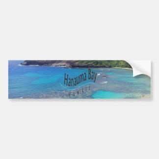 Bahía Hawaii de Hanauma Pegatina Para Auto