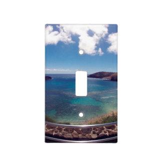 Bahía Hawaii de Hanauma Placa Para Interruptor