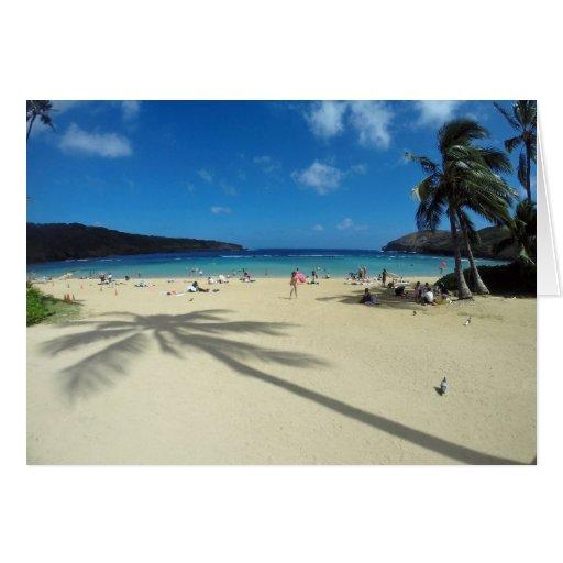 Bahía Hawaii de Hanauma Tarjeta De Felicitación