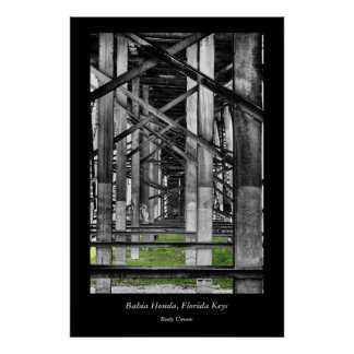 Bahia Honda Bridge Print