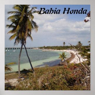 Bahía Honda Poster