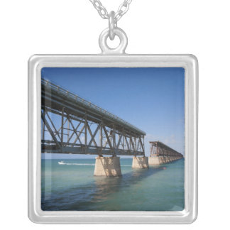 Bahia Honda State Park, Florida Keys, Key Silver Plated Necklace