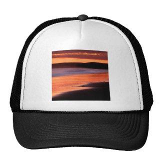 Bahía Marin de los Drakes de la puesta del sol de  Gorra