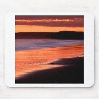 Bahía Marin de los Drakes de la puesta del sol de  Tapete De Ratón