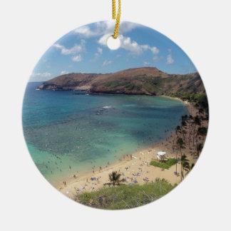Bahía Oahu de Hawaii Hanauma Ornamentos Para Reyes Magos