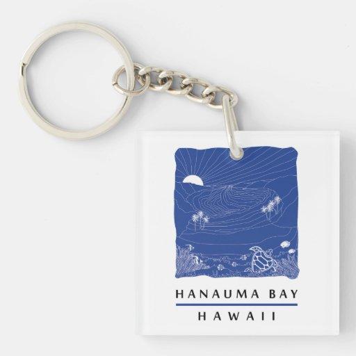 Bahía Oahu de Hawaii Hanauma Llavero