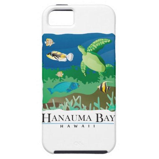 Bahía Oahu Hawaii de Hanauma iPhone 5 Cárcasa