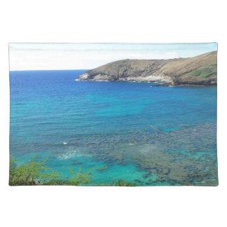 Bahía Oahu Hawaii de Hanauma Manteles Individuales