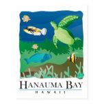 Bahía Oahu Hawaii de Hanauma Postal
