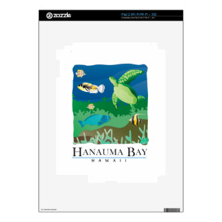 Bahía Oahu Hawaii de Hanauma Skins Para iPad 2