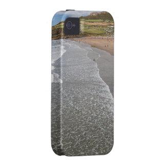 Bahía País de Gales del Mawr Whitesands de Porth iPhone 4 Carcasas