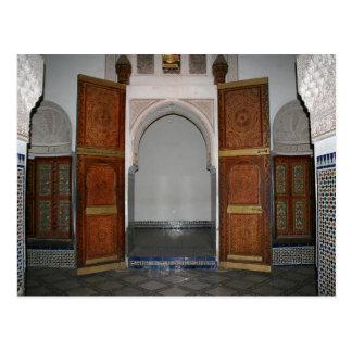 Bahia palace ...a door postcard
