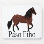 """Bahía """"Paso Fino """" de Paso Fino Mousepad"""