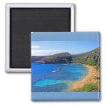Bahía profunda 3, Honolulu, Oahu, Hawaii de Hanaum Imanes Para Frigoríficos