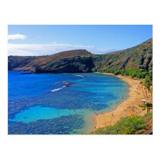 Bahía profunda 3, Honolulu, Oahu, Hawaii de Postal