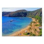 Bahía profunda de Hanauma, Honolulu, Oahu Tarjetas