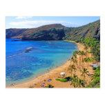 Bahía profunda de Hanauma, Honolulu, Oahu Tarjetas Postales