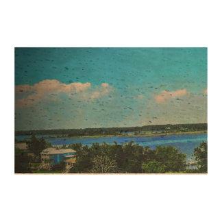 Bahía trasera de Biloxi por OHP Impresión En Corcho