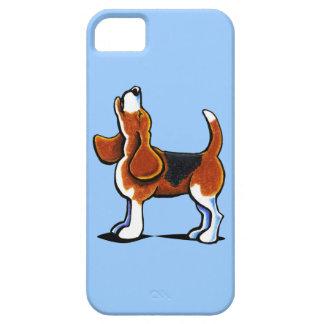 Bahía tricolora del beagle iPhone 5 carcasas