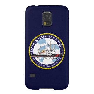 """Bahía WTGB-101 """"azules marinos """" de USCGC Katmai Carcasas De Galaxy S5"""