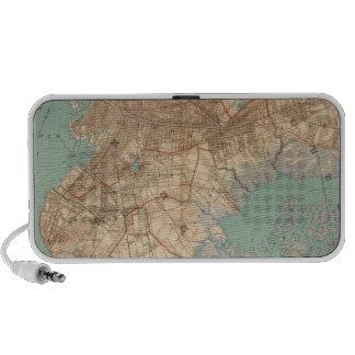Bahía y Brooklyn de Jamaica Laptop Altavoz