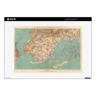 Bahía y Brooklyn de Jamaica Calcomanía Para 38,1cm Portátil