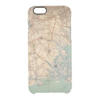 Bahía y Brooklyn de Jamaica Funda Clear Para iPhone 6/6S