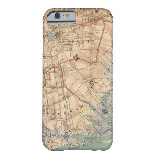 Bahía y Brooklyn de Jamaica Funda De iPhone 6 Barely There