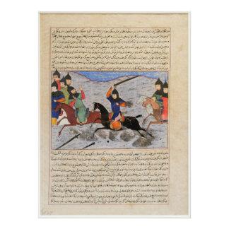 Bahman Taking Revenge on the Sistanians Photograph