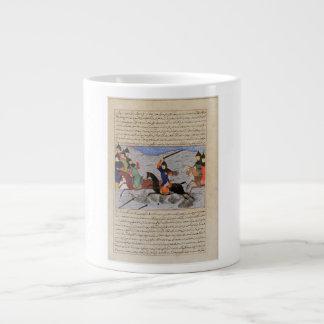Bahman Taking Revenge on the Sistanians 20 Oz Large Ceramic Coffee Mug