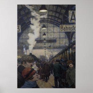 Bahnhofshalle Poster