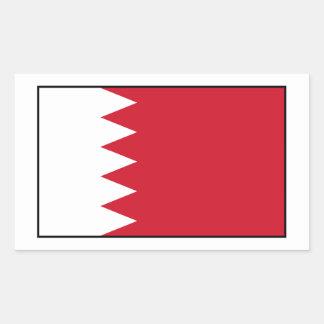 Bahrain - Bahraini Flag Rectangular Stickers