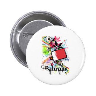Bahrain Pinback Buttons