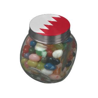 Bahrain Glass Candy Jar