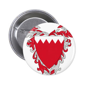 Bahrain Coat of Arms Pinback Buttons