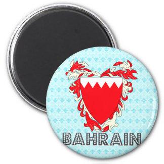Bahrain Coat of Arms Refrigerator Magnet