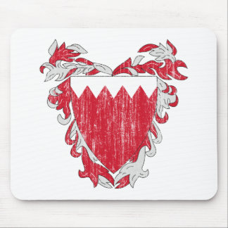 Bahrain Coat Of Arms Mouse Pad