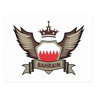 Bahrain Emblem Postcards
