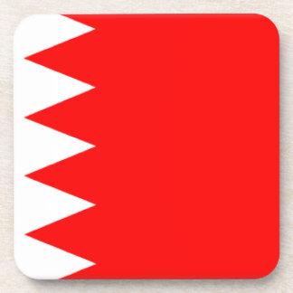 Bahrain Flag Beverage Coaster