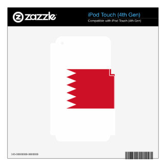 Bahrain Flag Decals For iPod Touch 4G