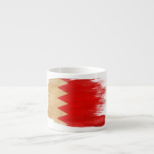 Bahrain Flag Espresso Cup