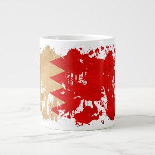 Bahrain Flag Giant Coffee Mug