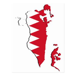 Bahrain Map Postcards Zazzle - Bahrain map