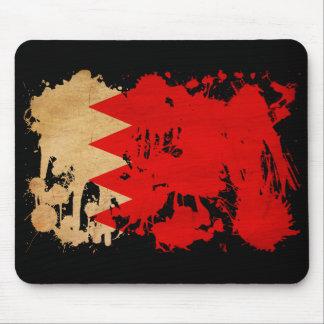 Bahrain Flag Mouse Pad