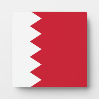 Bahrain Flag Plaque