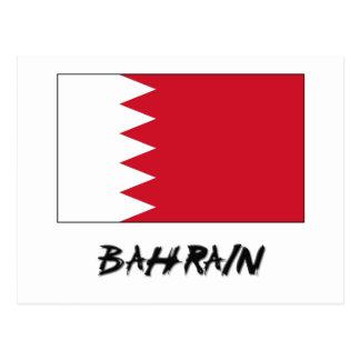 Bahrain Flag Postcards