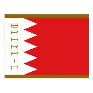 Bahrain flag post cards