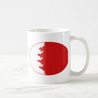 Bahrain Gnarly Flag Mug