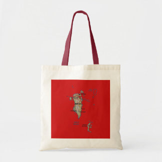 Bahrain Map Bag