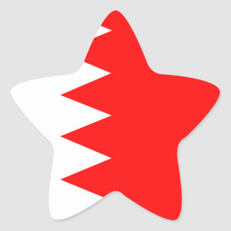 Bahrain National Flag Sticker